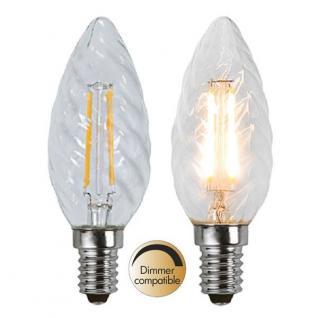 Illumination LED Filament E14 230V 400lm 3, 2W 2700K dimmbar 352-06 Glühbirne
