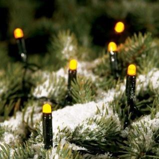 LED Lichterkette 17, 9m 200er gelb innen und außen Konstsmide 3053-000