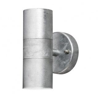 Stahl galvanisiert Wandleuchte MODENA up + downlight außen Konstsmide 7571-320