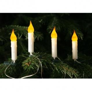 10er LED Lichterkette Weihnachtsbaum / Gesteck Batteriebetrieb 003-09