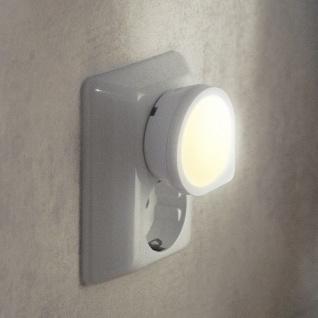 LED Nachtlicht Dämmerungssensor Orientierungslicht Steckdose 357-12