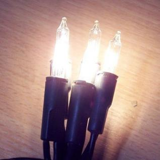 Mini-Lichterkette 10er Birnen klar Kabel grün XI11103