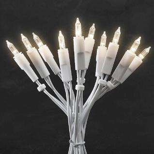LED Mini-Lichterkette 10er warmweiß Kabel weiß mit Schalter 1, 35m 6300-102 xmas