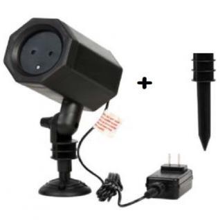 Laser Projektor Sparkle Laser lights rot / grün innen / außen SA167 xmas