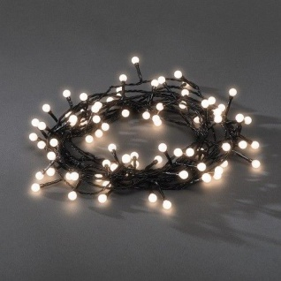 LED Globe-Lichterkette 80er warmweiß aussen 6, 32m Konstsmide 3691-107 xmas