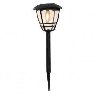 Filament LED Solarleuchte FELIX Dämmerungssensor warmweiß 45x14cm außen 480-89