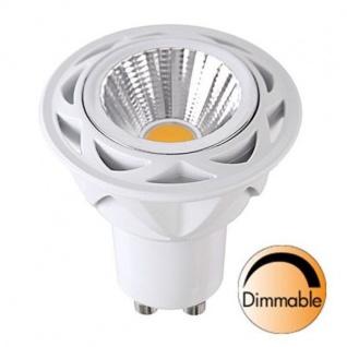 Spotlight LED COB Leuchtmittel GU10 230V 470lm 7W 2700K dimmbar 348-12 - Vorschau