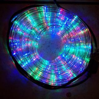 LED Lichtschlauch Lichterschlauch 20m multicolor außen BA11663 xmas