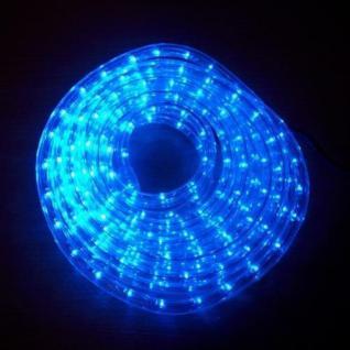 LED Lichtschlauch Lichterschlauch Superflex 6m blau 13mm 556-09 außen xmas