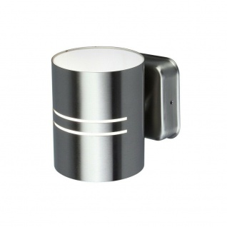 LED Edelstahl Außenwandleuchte TUBE 12x10x13, 3cm Lutec ST-5214-3K Eco-Light