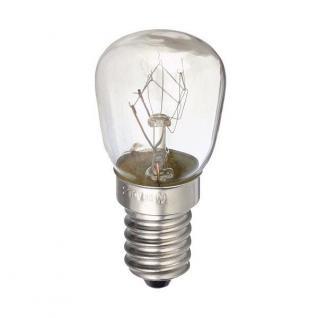 Glühbirne E14 15W 230-240V Leuchter / Nähmaschine etc. Glaskolben klar 360-55