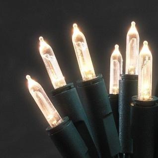 LED Mini-Lichterkette 100er warmweiß 14, 85m ein Strang 6304-120