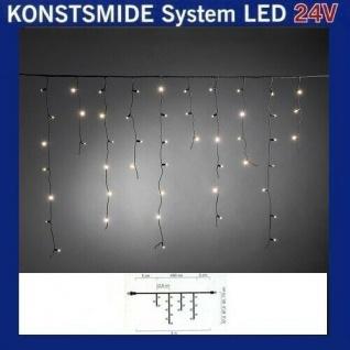 LED Eisregenlichterkette 2, 5m 100er warmweiß Hightech System 4681-117