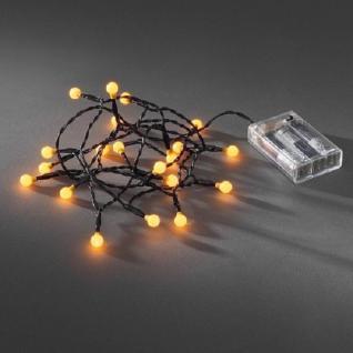LED Globe-Lichterkette 20er Batterie Timer innen gelb 1491-007 xmas