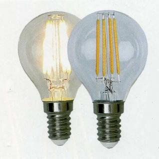 Illumination LED Filament Leuchtmittel Glühbirne E14 230V 320lm 4W 2700K 352-13