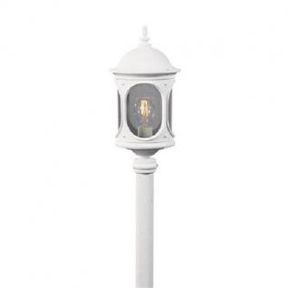 Alu Leuchtenkopf weiss mit Acrylglas RIEGEL Konstsmide 608-250