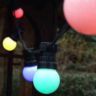 LED Party Lichterkette 10er bunt 5m außen FHS 06297