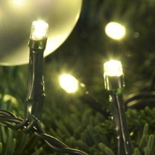 LED Lichterkette warmweiß 200er 19, 9m Kabel grün außen HI 76093 xmas