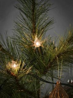 Baumkette Topbirnen gedrehte Spitze 20er warmweiß/grün innen Konstsmide1027-000