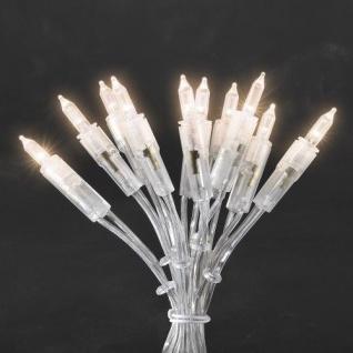 LED Mini-Lichterkette 50er warmweiß 7, 35m ein Strang Konstsmide 6303-123 xmas