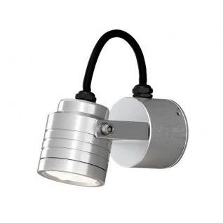 Aluminium LED High Power Wandleuchte MONZA Konstsmide 7903-310