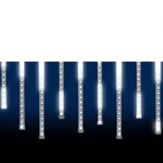 LED Leuchtstäbe Lichtervorhang Schneefalleffekt 60er außen 2765-103 xmas