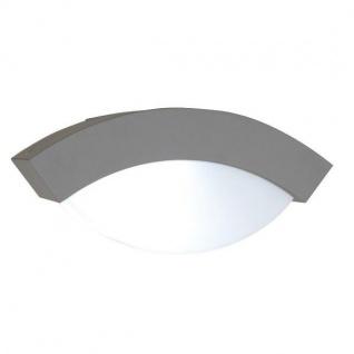 Alu Außenwandleuchte GEOMETRY silber E27 11, 9x26, 3x11, 4cm UME 2146-SI Eco-Light