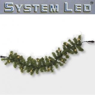 System LED Girlande Extra 100er warmweiß 6m extra Best Season 465-91