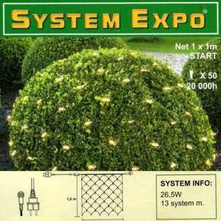 System Expo Lichternetz-Start 50 Lampen klar 1x1m Best Season 484-34