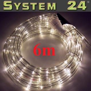 System 24 LED Lichtschlauch 6m extra warmweiß 491-33 außen xmas
