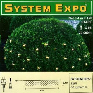 System Expo Lichternetz-Start 96 Lampen klar 0, 4x4m Best Season 484-38