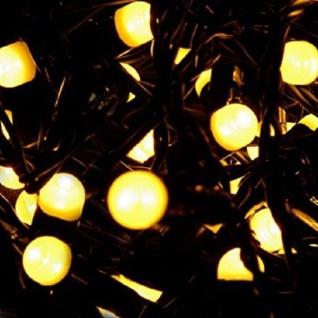 Maxi LED Lichterkette 8mm 200er warmweiß-grün 20m außen BA11777 xmas
