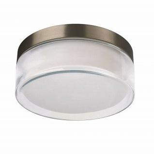 Edelstahl Glas Wandleuchte Pinsk inkl. Leuchtmittel außen Massive 16289/47/10