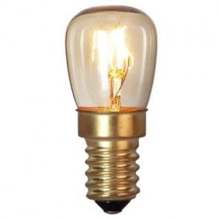 Glühbirne E14 15W 230-240V Ofenbirne bis 300 Grad C Glaskolben klar 360-56