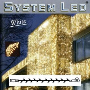 System LED Lichterkette 3m 30er warmweiß - weiß Best Season 466-06-3