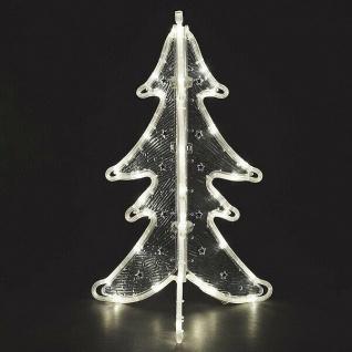 LED Lichtschlauchsilhouette Weihnachtsbaum 63x40cm IP44 außen 3905-100 xmas