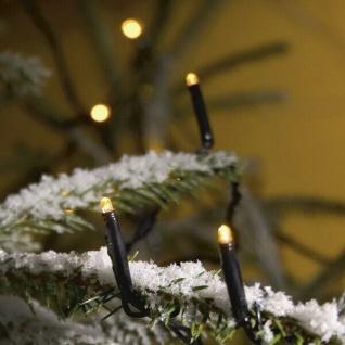 Micro LED Lichterkette 300er gelb/schwarz 47, 84m außen Konstsmide 3616-000 xmas