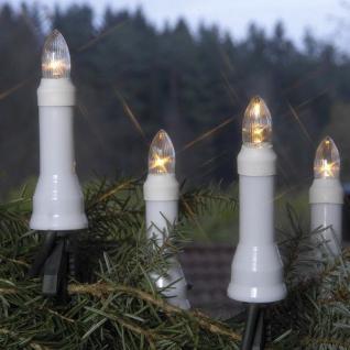 LED Weihnachtsbaumbeleuchtung 25er Stecker teilbar 12m warmweiß außen 415-95