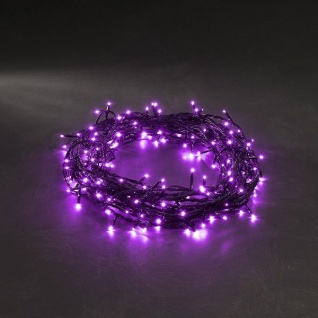 Micro LED Lichterkette 120er purpur - lila 8 Funktionen 3631-450