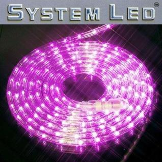 System LED Lichtschlauch Ropelight Extra 2m pink außen 465-73 xmas