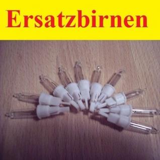 Ersatzlampen / Ersatzbirnen 10 Stück 2, 4V / 0, 168W für Eisregenlichterkette xmas