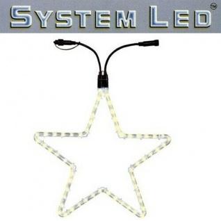 System LED Lichtschlauch Stern Extra 55cm warmweiss außen 465-76 xmas