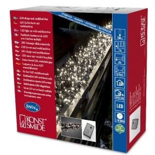 Micro LED Büschellichterkette Cluster 580er warmweiß 3m aussen 3791-100