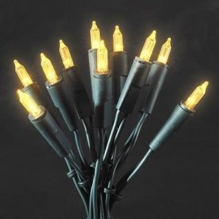 LED Mini-Lichterkette 35er gelb innen 5, 10m Konstsmide 6302-000 xmas