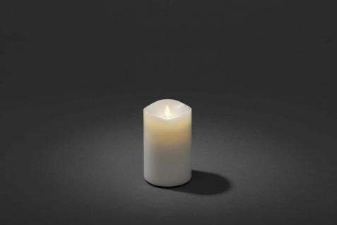 LED Duftkerze flackernd mit Lavendel-Duftpad warmweiß Konstsmide 1860-100