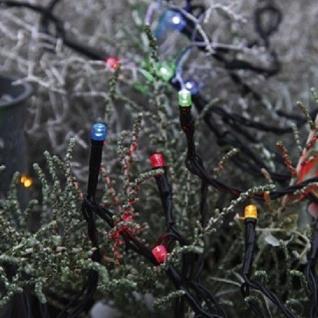 LED Lichterkette 160er 16m multicolor / schwarz außen Best Season 498-31