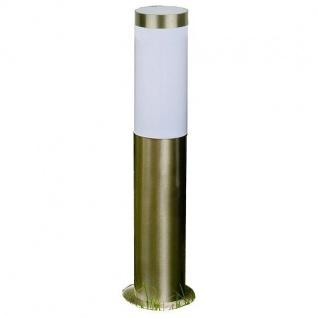 LED Edelstahl Sockelleuchte SALZBURG E27 45cm hoch Lutec ST022-450 Eco-Light