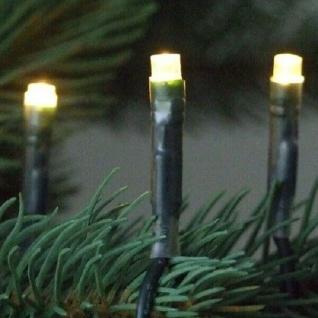 LED Lichterkette 200er warmweiß / grün 20m aussen 04606 xmas