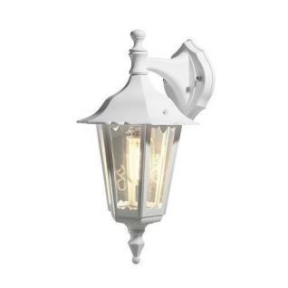 Alu Wandleuchte mit Glas weiß FIRENZE Konstsmide 7231-250