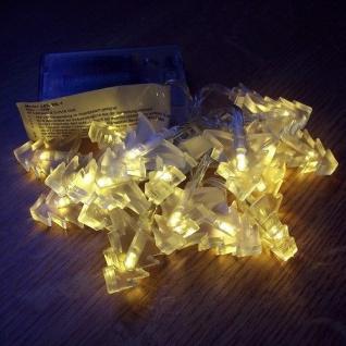 LED Lichterkette Tannenbaum warmweiß 20er Batteriebetrieb BI11564-1
